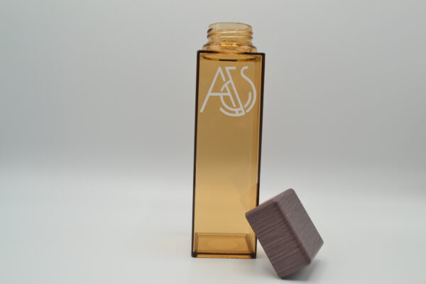 Square Natural Water Bottle